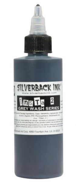 Insta 2 Grey Wash  Silverback Ink®