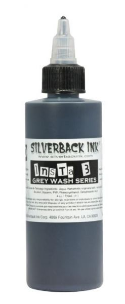 Insta 3 Grey Wash  Silverback Ink®