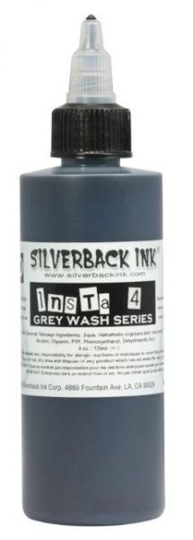 Insta 4 Grey Wash  Silverback Ink®