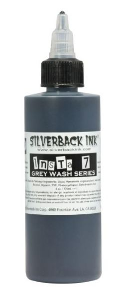 Insta 7 Grey Wash  Silverback Ink®