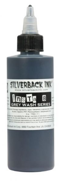 Insta 8 Grey Wash  Silverback Ink®
