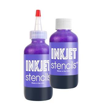 InkJet Stencil Bouteille 4oz