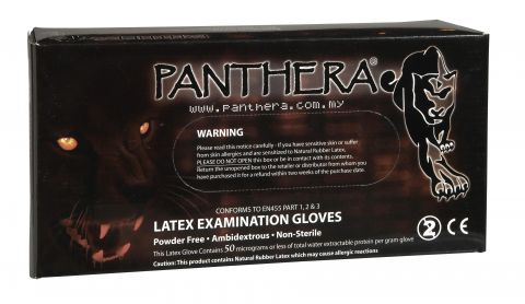 Gants latex Panthera