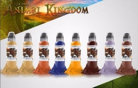 ILya Foam Animal 16 Bottle Set World Famous Ink - 1oz