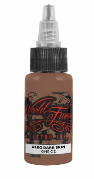 World Famous Ink 1oz -Oleg Dark Skin