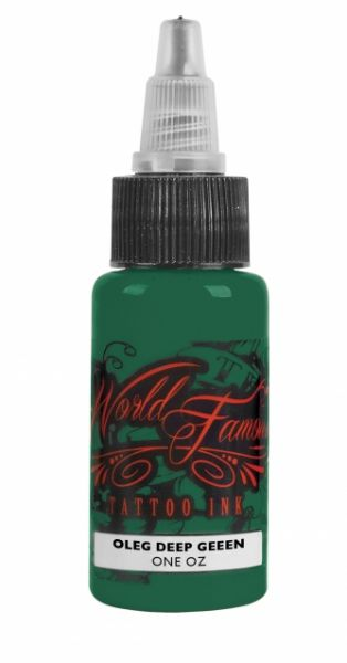 World Famous Ink 1oz -Oleg Deep Green
