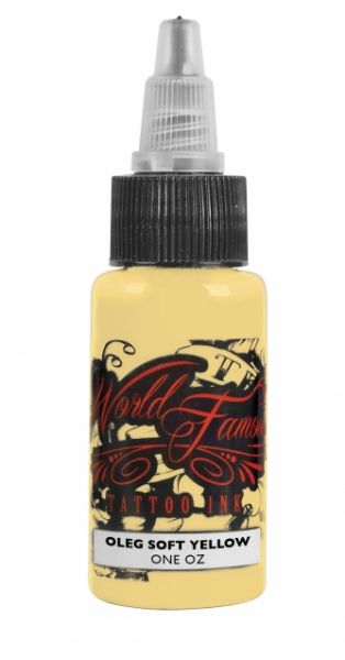 World Famous Ink 1oz -Oleg Soft Yellow