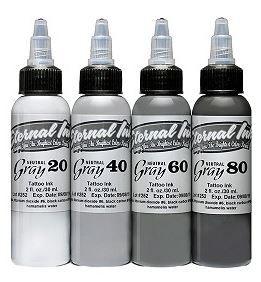 Eternal Ink  Set Neutral Gray – 30ml (1oz)