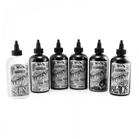 Nocturnal Tattoo Ink Set Complet