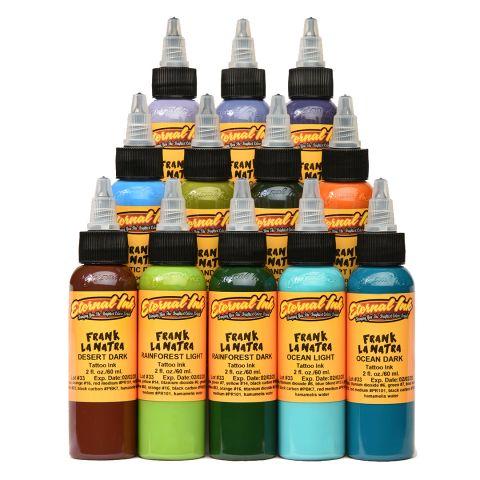 Eternal Ink Frank La Natra Set - 1oz (30ml) 12 Bottles