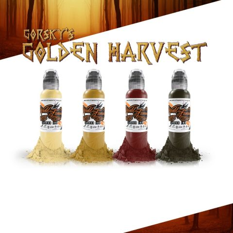 Gorksy Golden Harvest Set - 1oz - World Famous Inks