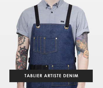 Denim Artist Apron