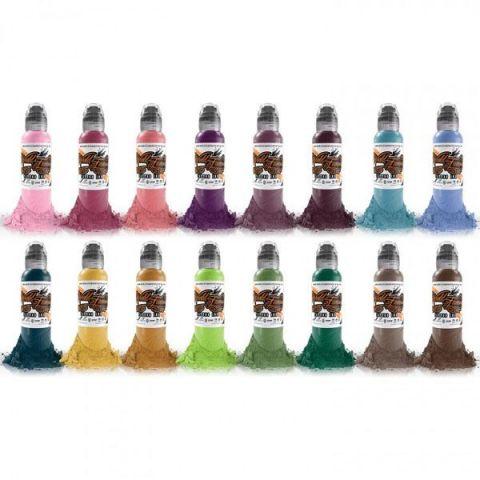 Pancho ProTeam 6 Bottle Set World Famous Ink - 1oz