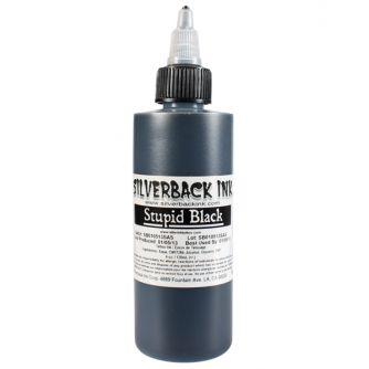 Silverback Ink® Stupid Black - 4oz