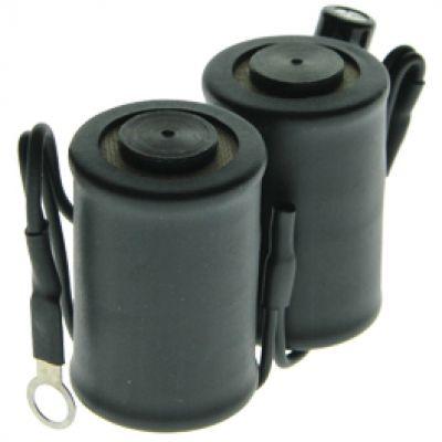 Sunskin Black Coils 10 Wrap