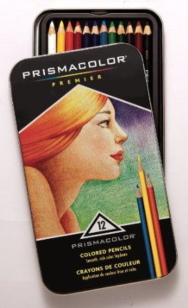 Prismacolor Coloured Pencils - 12 Pack Standard