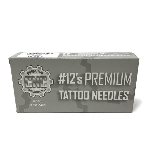 CNC 12 Premium Round Liner Needle - Long Taper