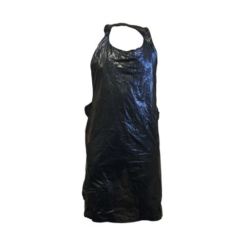 Barber DTS Black Disposable Aprons (100 pack)