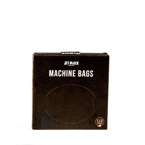 Jet Black - Machine Bags - 133x133mm - 200 Pack