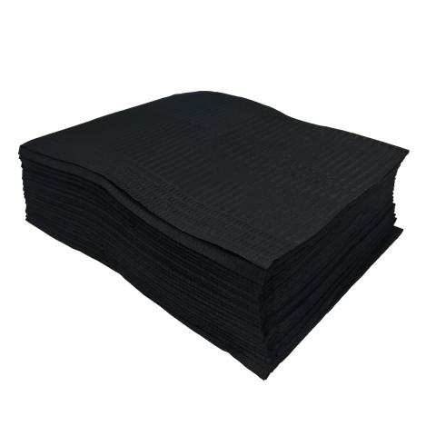 Unigloves Select Black Lap Cloths