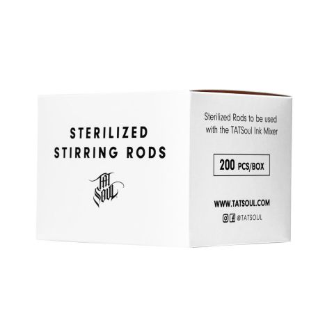 TATSoul Ink Mixer Sterile Stirring Rods (200 pack)