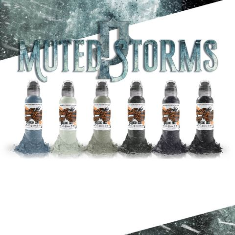 Poch - Muted Storms Set - 1oz - World Famous Inks