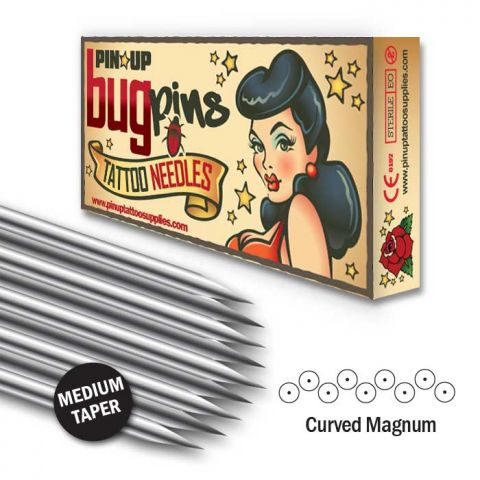Bugpin Curved Magnum Needle - Medium Taper