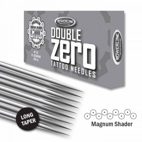 Ago CNC 10 Double Zero Magnum Shader - Long Taper