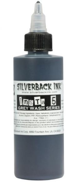 Silverback Ink® Insta 5 Grey Wash