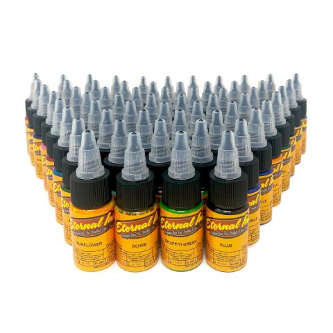 ETERNAL INK 15ML GOLD SET 60 COLOURS