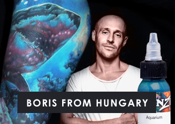 Intenze Artists - Boris From Hungary