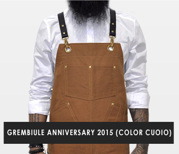 2015 Anniversary Apron - Brown