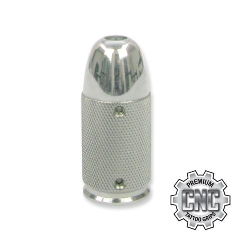 CNC Tattoo Grip Knurled Bullet