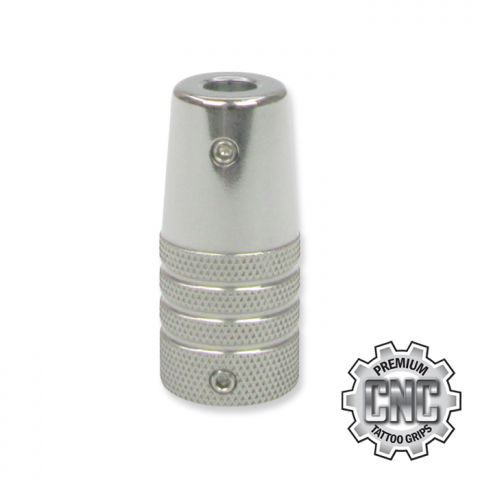 CNC Tattoo Grip Knurled Tapered