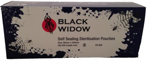 Black Widow Sterilisation Pouches