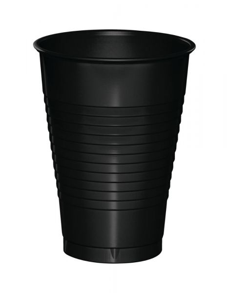 Black Disposable Rinse Cups (100)