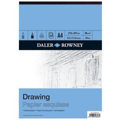Smooth Drawing Pad 96gsm (50 Sheets)