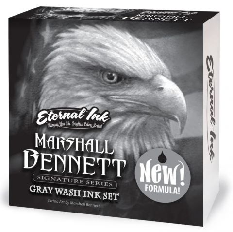 Eternal Ink Marshall Bennett Gray Wash Set - 1oz/30ml