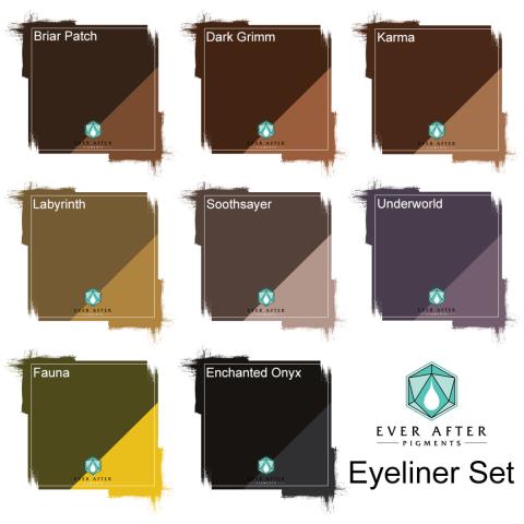 Ever After Pigments - Eyeliner Set