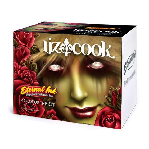 Eternal Colours Liz Cook Set x 12 Inks