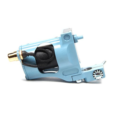 Shagbuilt d20 RCA Rotary Tattoo Machine - Blauw