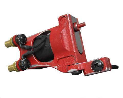 Shagbuilt d20 Rotary Tattoo Machine - Red