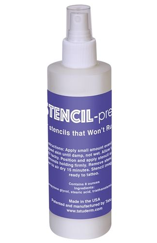 InkJet Stencils Prep Spray 8oz
