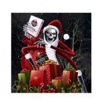 Kerstman Skeleton heeft zijn kerst grafkamer geopend