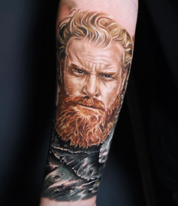Game of thrones Tattoo On Barber DTS Blog