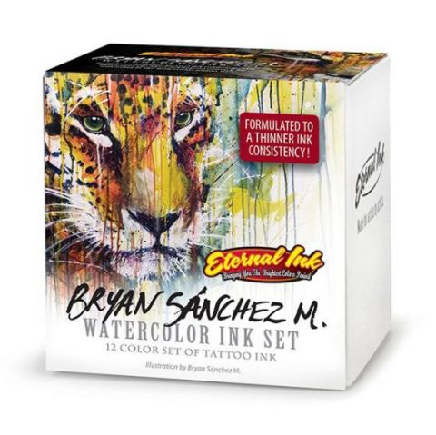 Eternal Ink 1oz/30ml Bryan Sanchez Set (12) - SHORT DATE