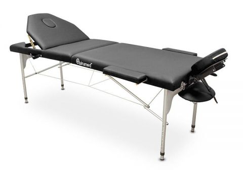 Portable Aluminium Table (Black)
