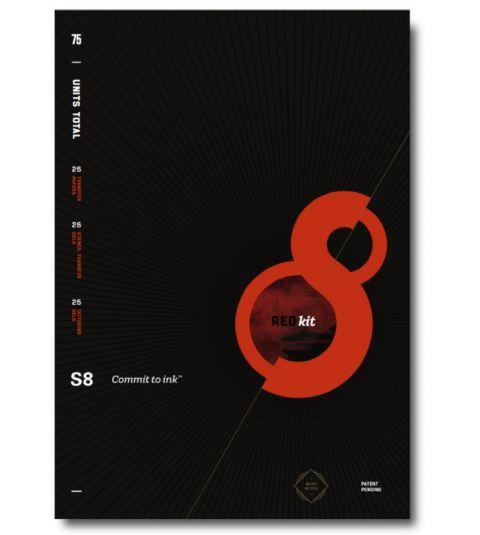 S8 Red Series Stencil Kit