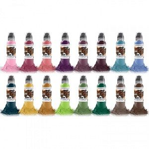 Pancho ProTeam 6 Bottle Set World Famous Ink - 1oz