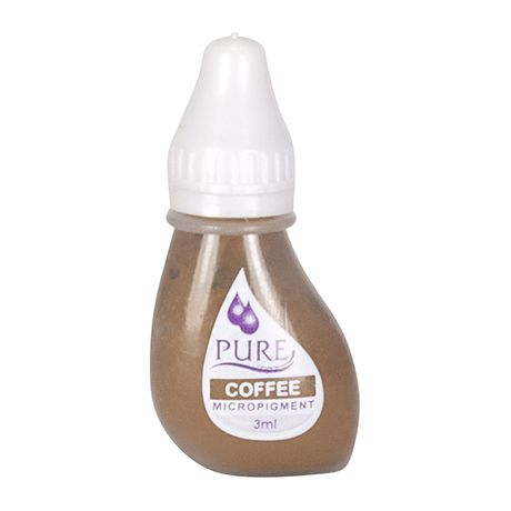 Biotouch Pure Permanent Coffee Makeup - 3ml (6 Bottles)